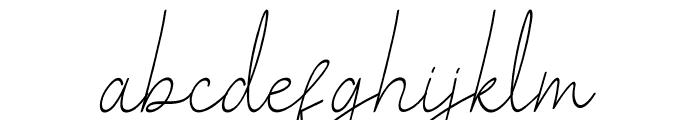 Salhena Free Font LOWERCASE