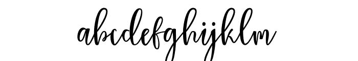 Sallat free Font LOWERCASE