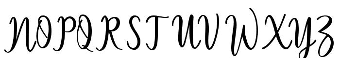 Sallita Font UPPERCASE
