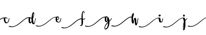 Salma Stylistic 1 Font UPPERCASE