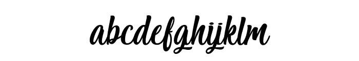 Salmon White - Personal Use Font LOWERCASE