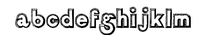 Salon de Coiffure Font LOWERCASE