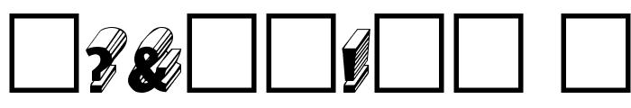 Salter Regular Font OTHER CHARS
