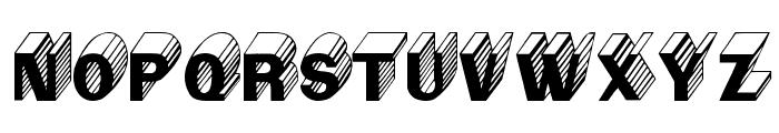 Salter Regular Font UPPERCASE