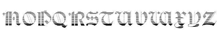 Salterio Gradient Font UPPERCASE