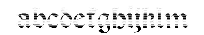 Salterio Gradient Font LOWERCASE