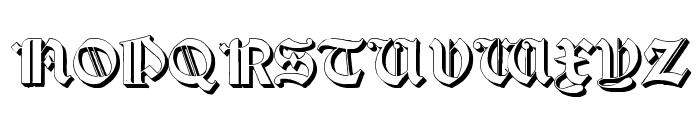 Salterio Three Font UPPERCASE