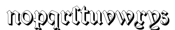 Salterio Three Font LOWERCASE