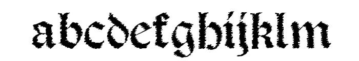 Salterio Trash Font LOWERCASE