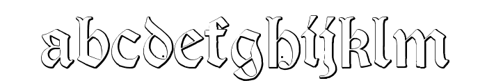 Salterio Font LOWERCASE