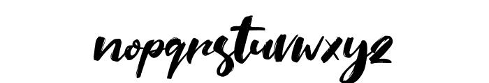 Saltino Font LOWERCASE