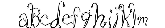 Saltwater Font UPPERCASE