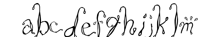 Saltwater Font LOWERCASE