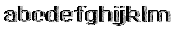 SaltyBeach Font LOWERCASE