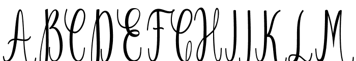 Salwa reguler Font UPPERCASE