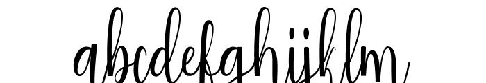 Salwa reguler Font LOWERCASE
