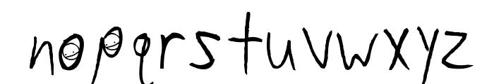 Sam Brown is My Hero Font LOWERCASE