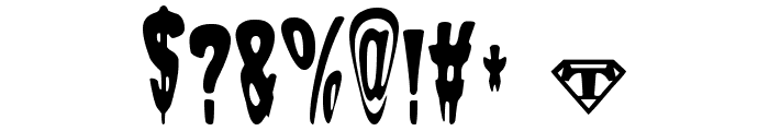 Sam-The-Butcher Font OTHER CHARS