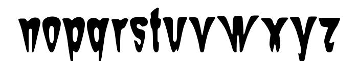 Sam-The-Butcher Font LOWERCASE
