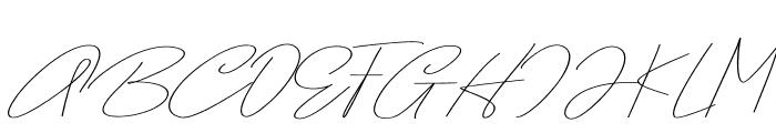 Samantha Font UPPERCASE