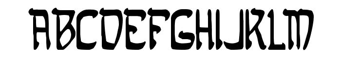 Samaritan Font LOWERCASE