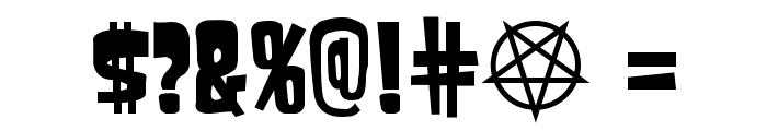 Samdan Font OTHER CHARS