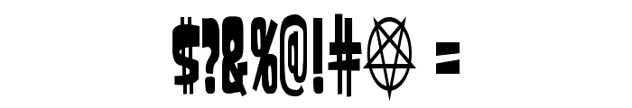 SamdanCondensed Font OTHER CHARS