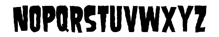 SamdanEvil Font UPPERCASE