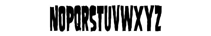 SamdanEvilCondensed Font LOWERCASE