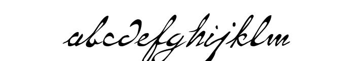 Same-Sex Marriage Script LDO Font LOWERCASE