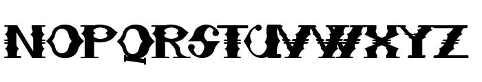 Sampa Midnight Font UPPERCASE