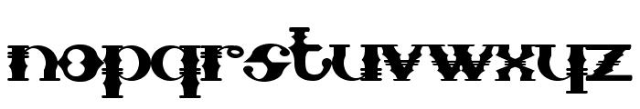SampaMidnight Font LOWERCASE