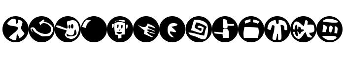 Sam's Dingbats No.2 Font LOWERCASE