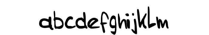 Sam's Handwriting Font LOWERCASE