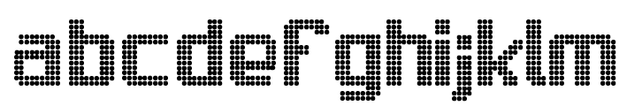 Sam's Town Font LOWERCASE
