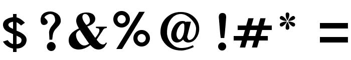 SamtolThick Font OTHER CHARS