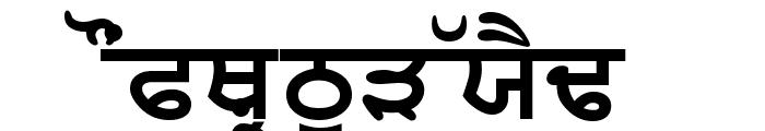 SamtolThick Font UPPERCASE