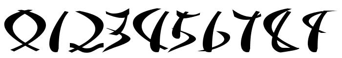 Samurai Font OTHER CHARS