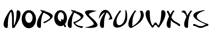 Samurai Font LOWERCASE