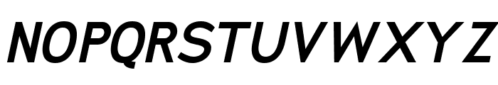 San Frediano Bold Italic Font UPPERCASE