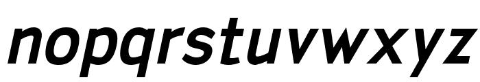 San Frediano Bold Italic Font LOWERCASE