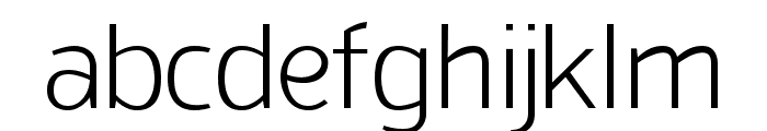 San Frediano Light Font LOWERCASE