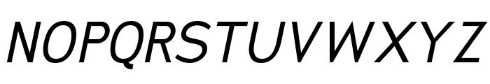 SanFrediano-Italic Font UPPERCASE