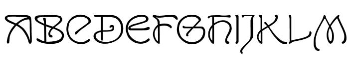 SanRemo Font UPPERCASE