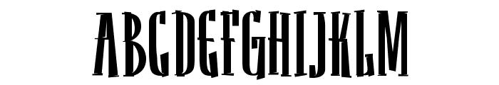 Sancho Bold Font UPPERCASE