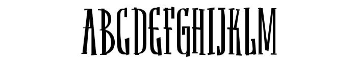 Sancho Font UPPERCASE