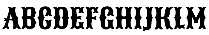 Sancreek Regular Font UPPERCASE
