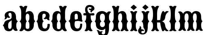 Sancreek Regular Font LOWERCASE