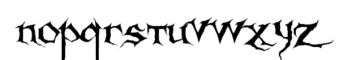 Sanctuary Font LOWERCASE