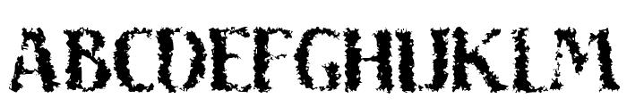 Sand Font UPPERCASE